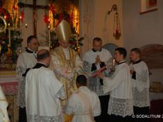 L'Imposizione delle mani (la materia del sacramento) - L'imposition des mains (la matière du sacrement)